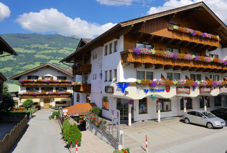 Hotel Pension Central Aussen