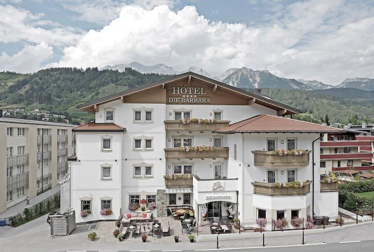 Hotel Die Barbara Aussenansicht