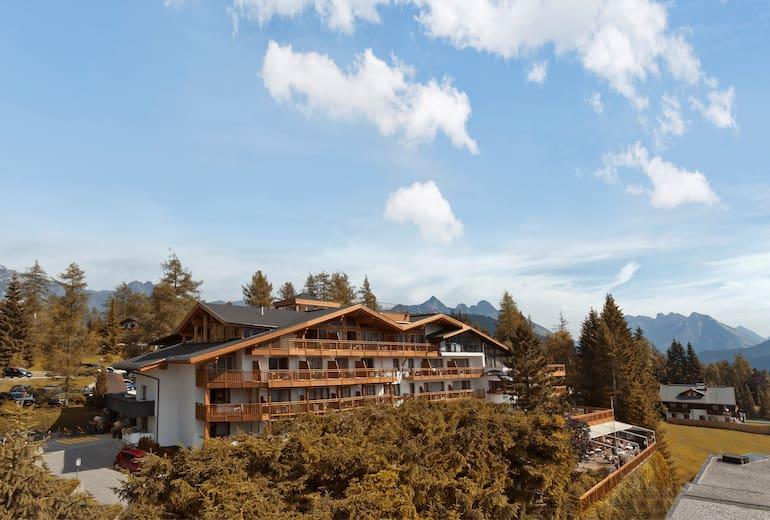 Natur uns Spa Hotel Lärchenhof Außenansicht