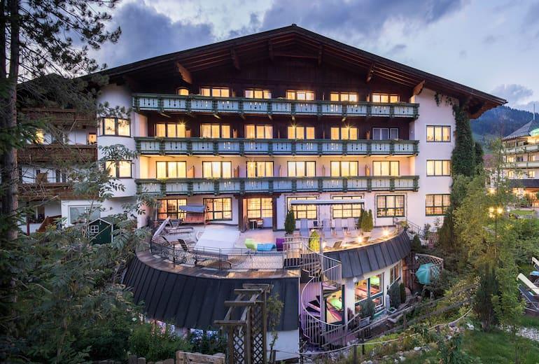 Vital Hotel zum Ritter Aussen Sommer