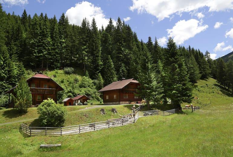 """Gasserhütten im """"Biosphärenpark Nockberge"""""""